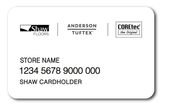 Shaw Credit card by Wells Fargo